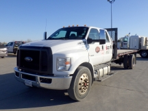 2016 Ford F750SD Flatbed